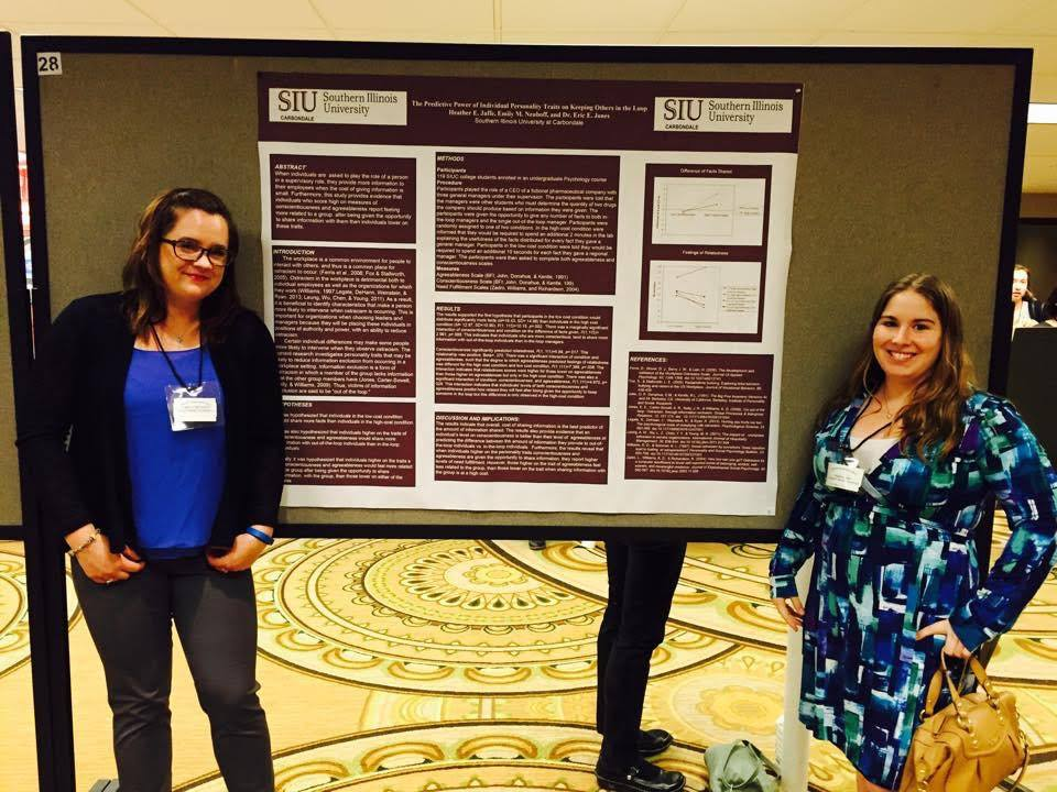 ARC Associates with their poster at the 2014 MPA conference