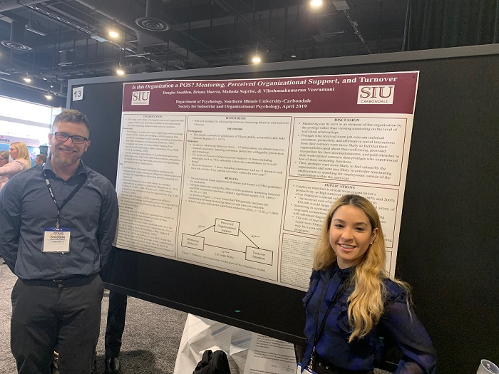 ARC Associates by their Poster at the 2019 SIOP Conference